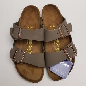 Birkenstock Arizona Stone Gray Sandals 41